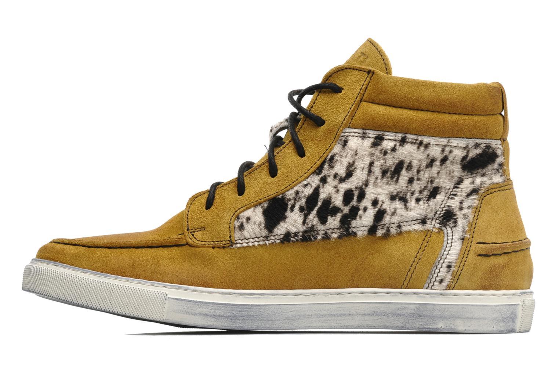 Sneakers Ylati Sibilla High Beige voorkant