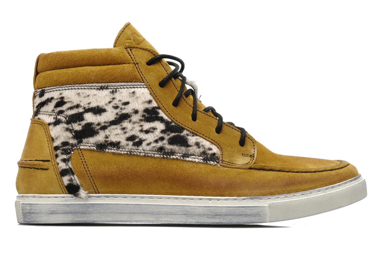 Sneakers Ylati Sibilla High Beige achterkant