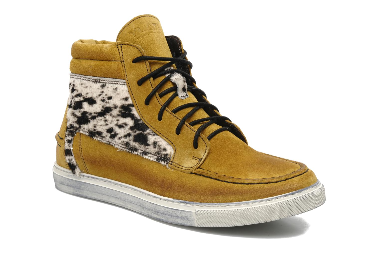 Sneakers Ylati Sibilla High Beige detail