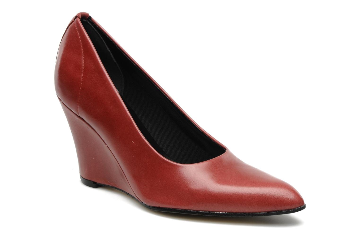 Pumps Elizabeth Stuart Coco Bordeaux detail