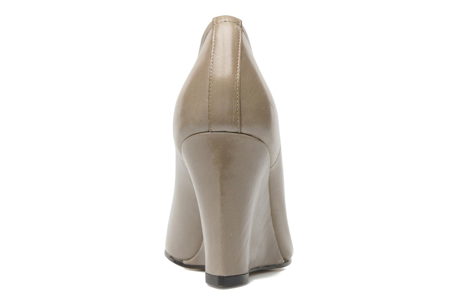 High heels Elizabeth Stuart Coco Beige view from the right