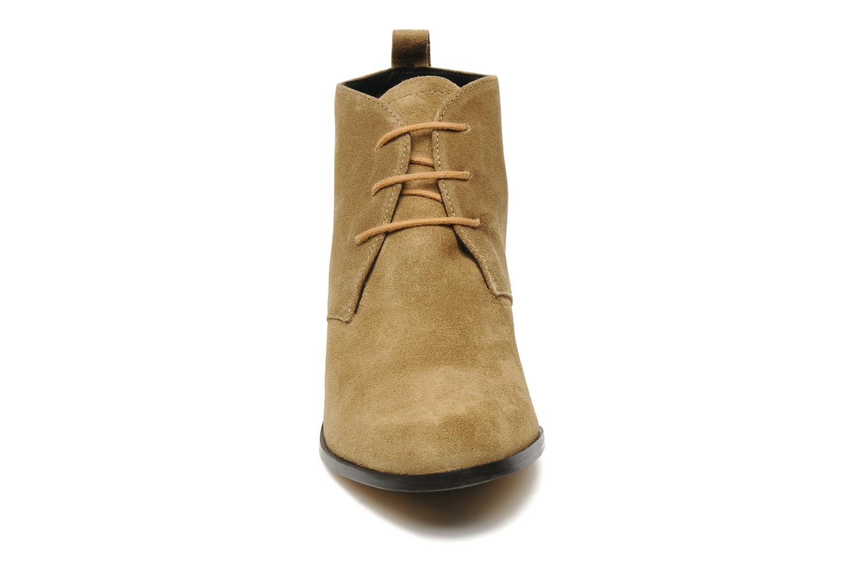 Schnürschuhe Elizabeth Stuart Ibis 334 beige schuhe getragen