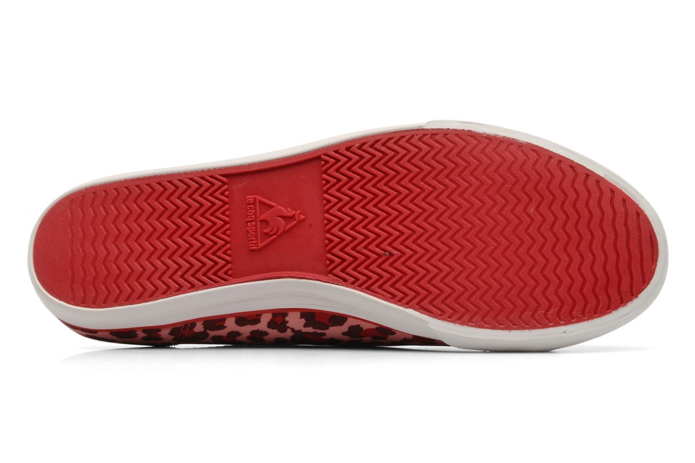 Sneakers Le Coq Sportif DEAUVILLE LP LEOPARD Rood boven