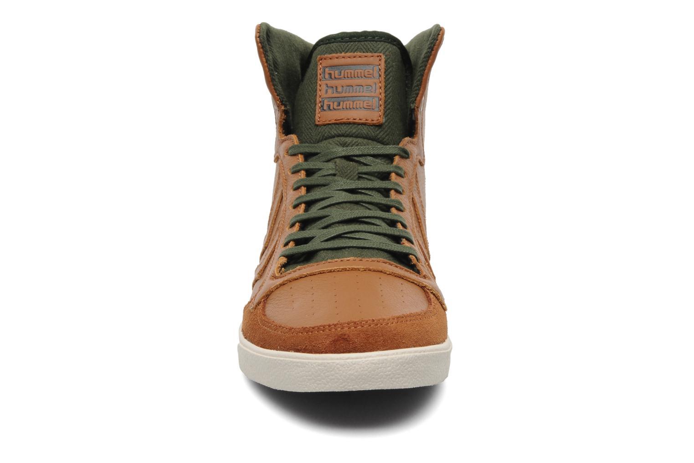 Sneakers Hummel Ten Star Vintage High Bruin model