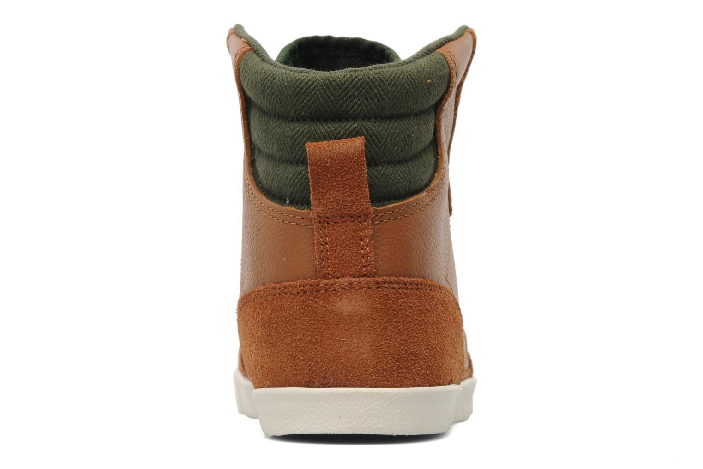 Sneakers Hummel Ten Star Vintage High Bruin rechts