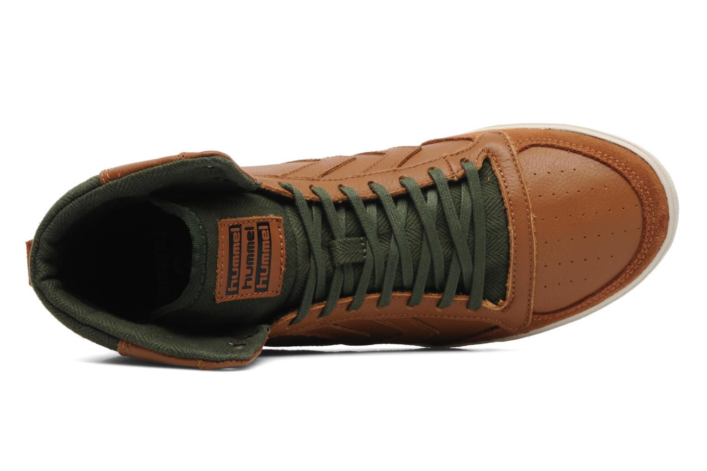 Sneakers Hummel Ten Star Vintage High Bruin links