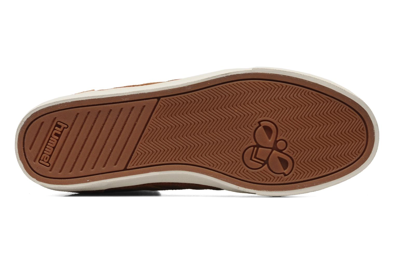 Sneakers Hummel Ten Star Vintage High Bruin boven