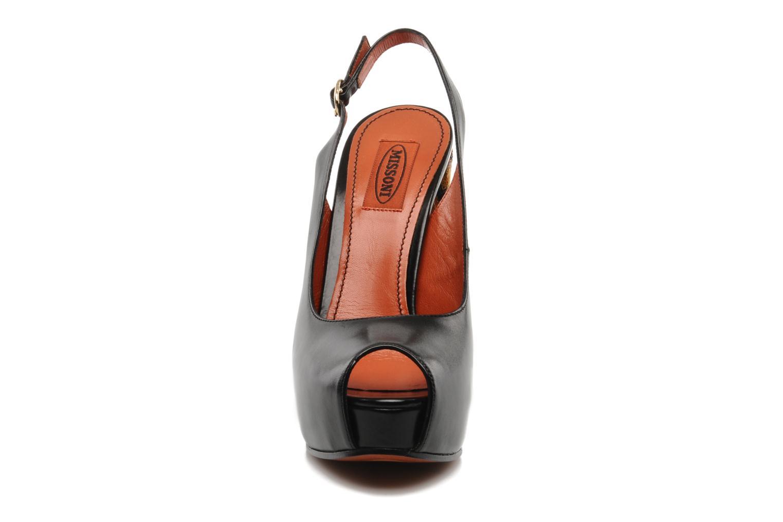 Sandales et nu-pieds Missoni Monia Noir vue portées chaussures