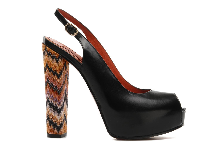 Sandalen Missoni Monia Zwart achterkant
