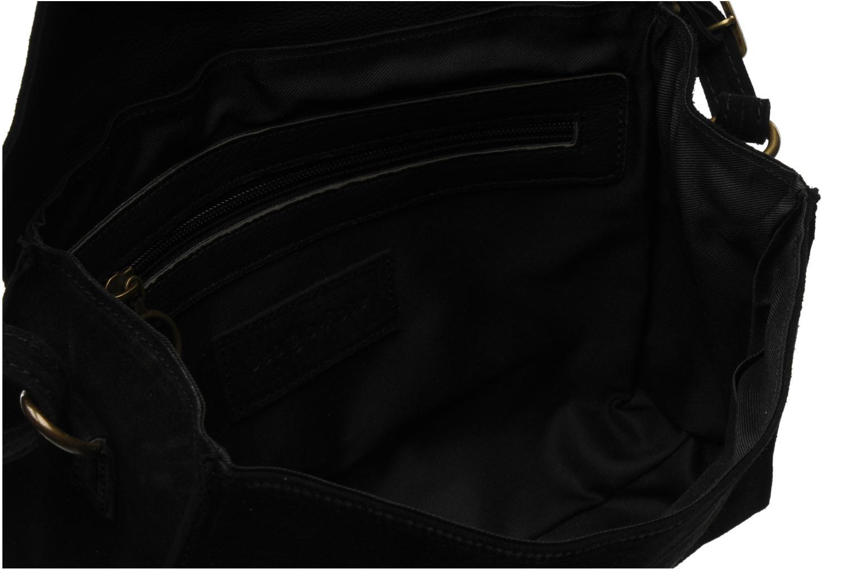 Handtaschen Georgia Rose Mitsi Cuir schwarz ansicht von hinten