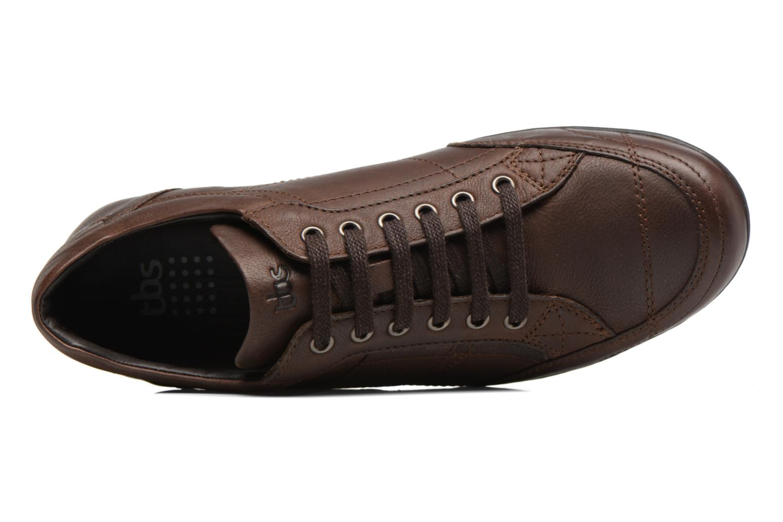 Trainers TBS Ladoga Brown view from the left