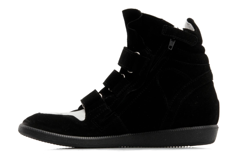 Sneaker Hip Blavia schwarz ansicht von vorne