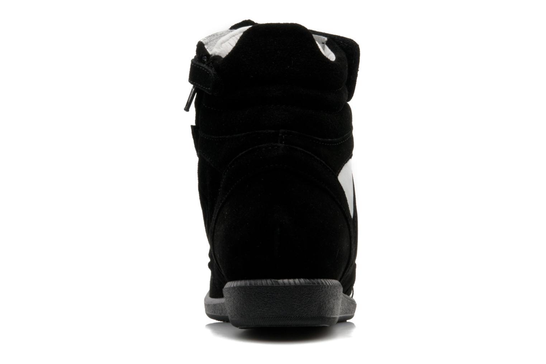 Sneaker Hip Blavia schwarz ansicht von rechts