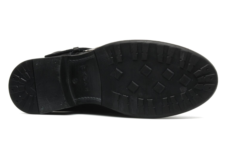 Bottines et boots Koah Ilda Noir vue haut