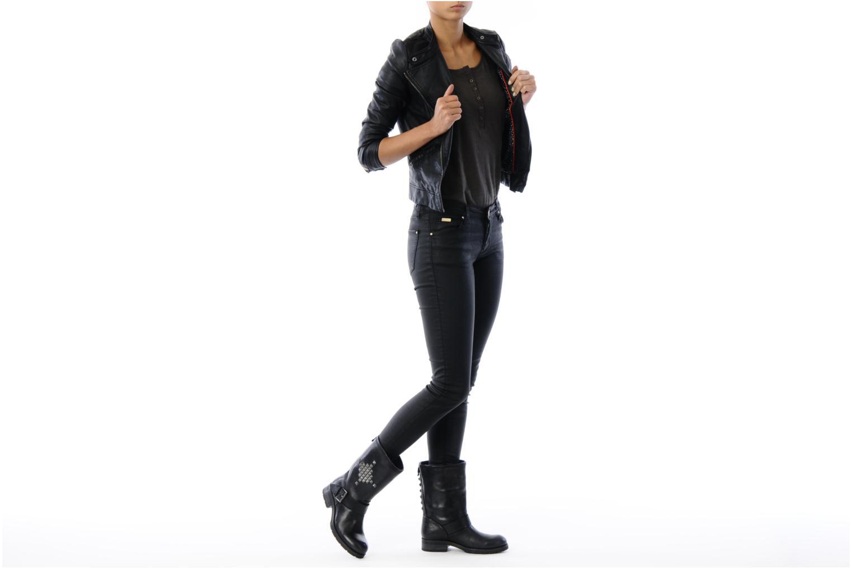 Bottines et boots Koah Nox Noir vue bas / vue portée sac