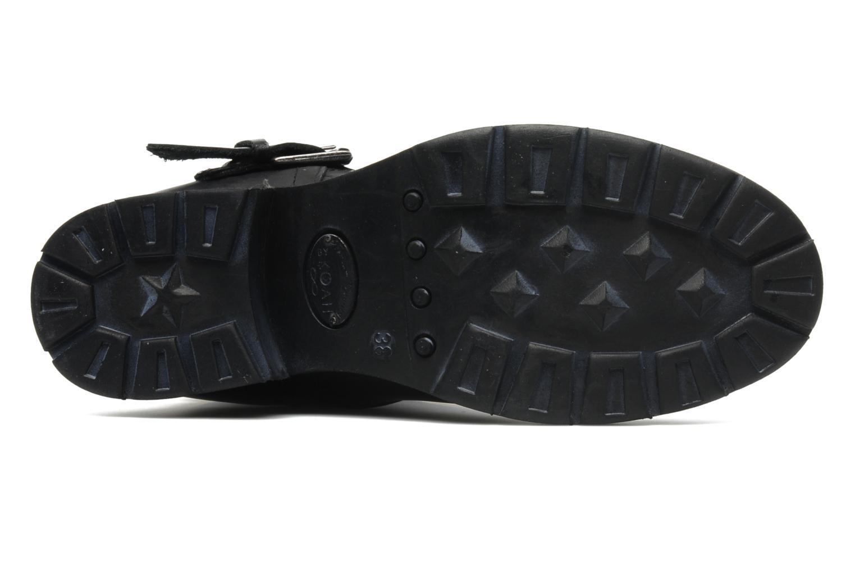 Bottines et boots Koah Nox Noir vue haut