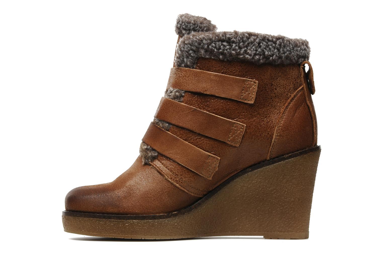 Boots en enkellaarsjes Koah Feliz Bruin voorkant