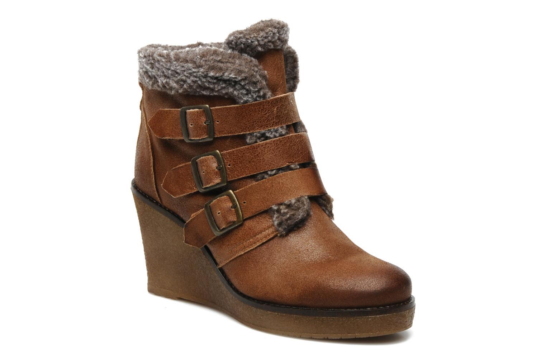Ankle boots Koah Feliz Brown detailed view/ Pair view