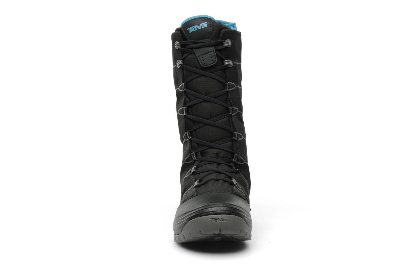 Chaussures de sport Teva Jordanelle Noir vue portées chaussures