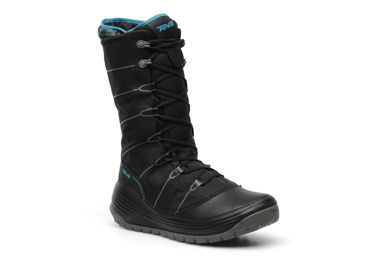 Chaussures de sport Teva Jordanelle Noir vue détail/paire