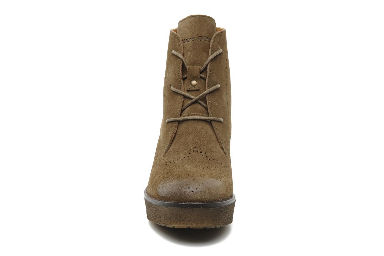 Bottines et boots Marc O'Polo Priscille Vert vue portées chaussures