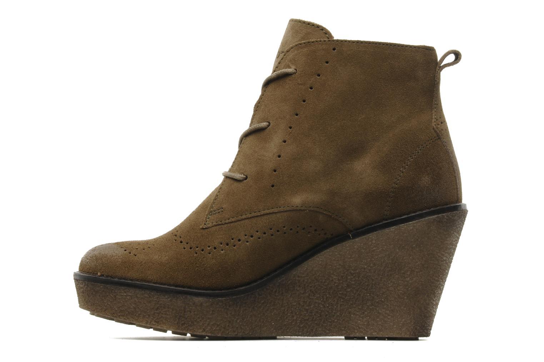Bottines et boots Marc O'Polo Priscille Vert vue face