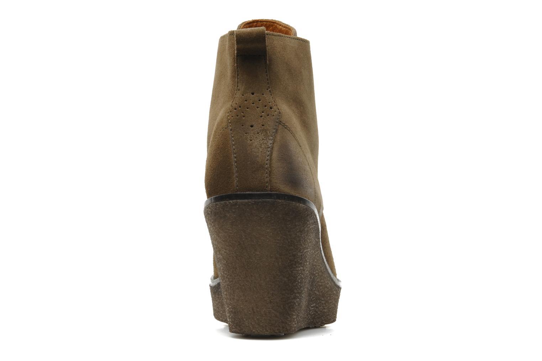 Bottines et boots Marc O'Polo Priscille Vert vue droite