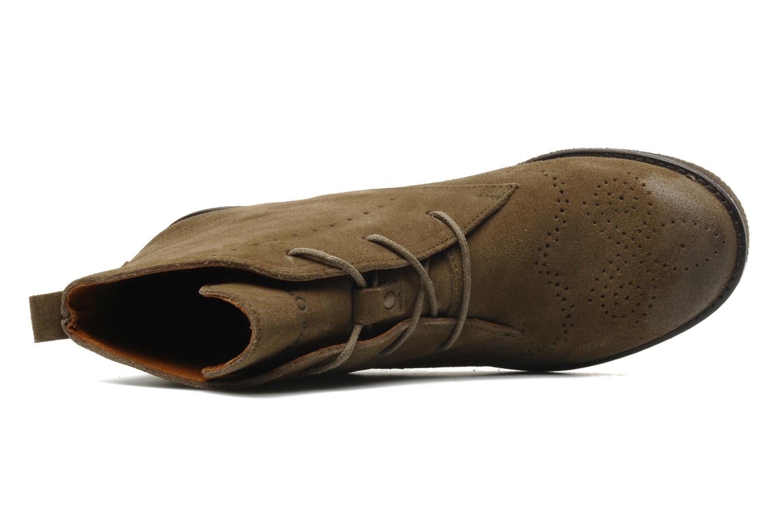 Bottines et boots Marc O'Polo Priscille Vert vue gauche