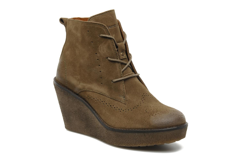 Bottines et boots Marc O'Polo Priscille Vert vue détail/paire