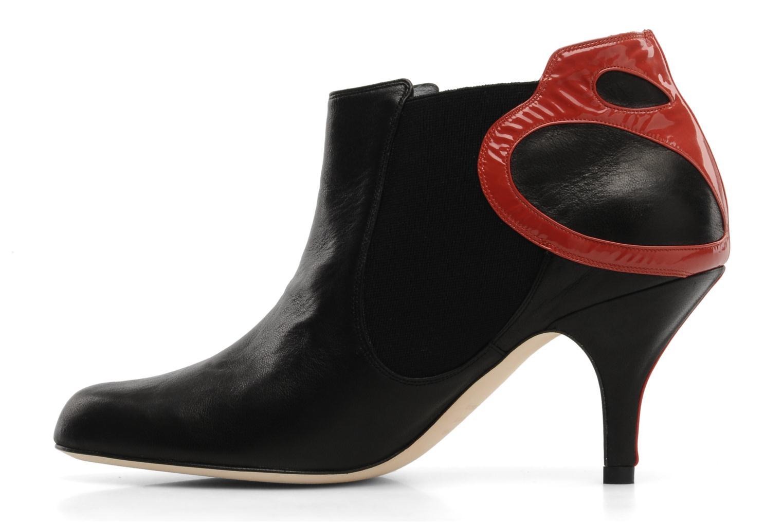 Botines  Fred Marzo Clara Boot Negro vista de frente