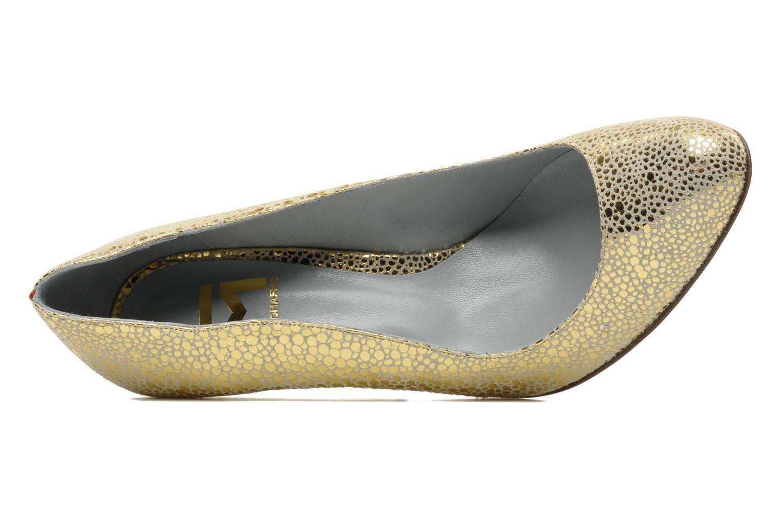 Zapatos de tacón Fred Marzo Titine Oro y bronce vista lateral izquierda