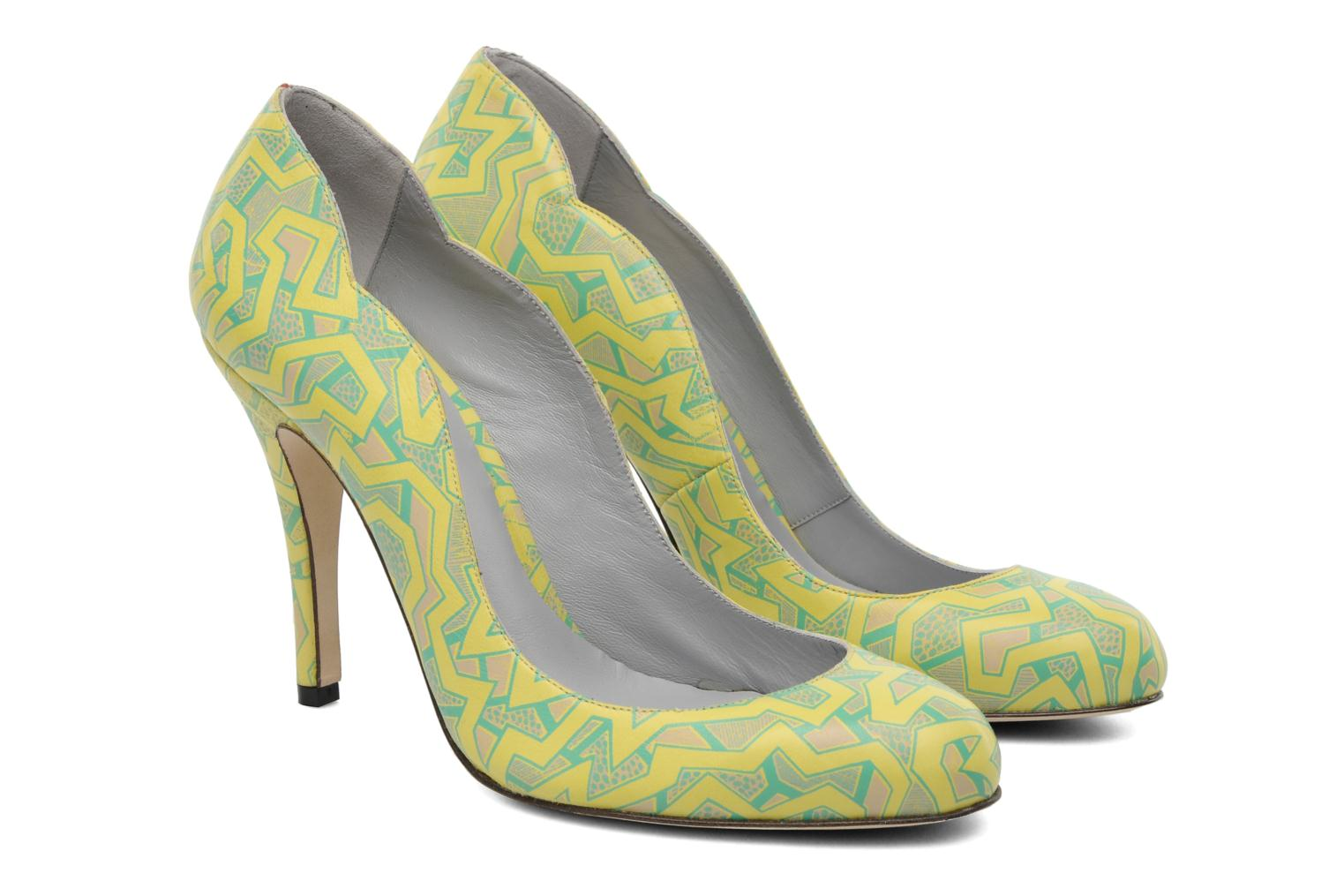 Pumps Fred Marzo Titine Geel 3/4'