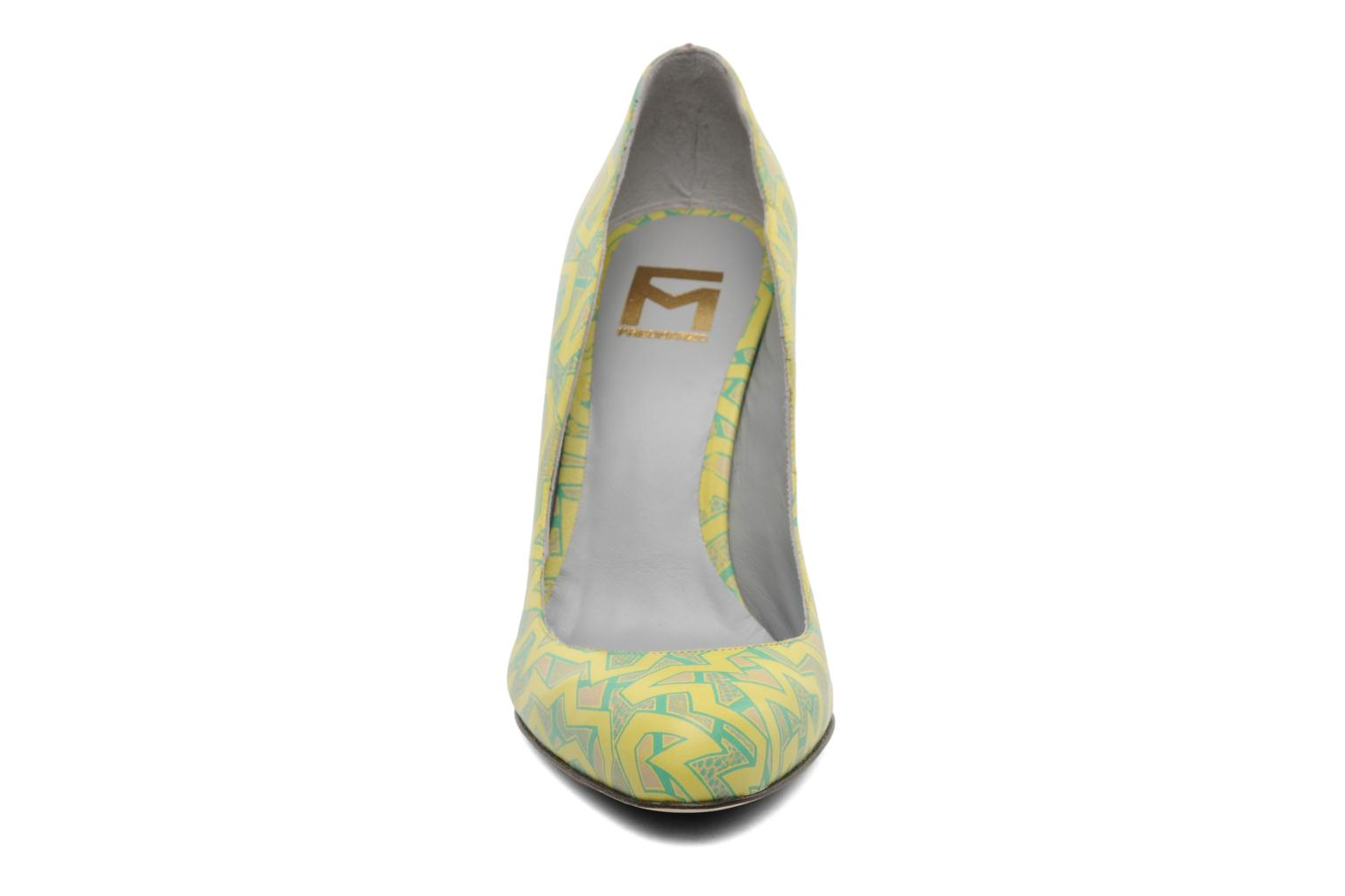 Pumps Fred Marzo Titine Geel model