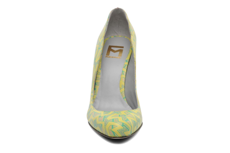 Escarpins Fred Marzo Titine Jaune vue portées chaussures