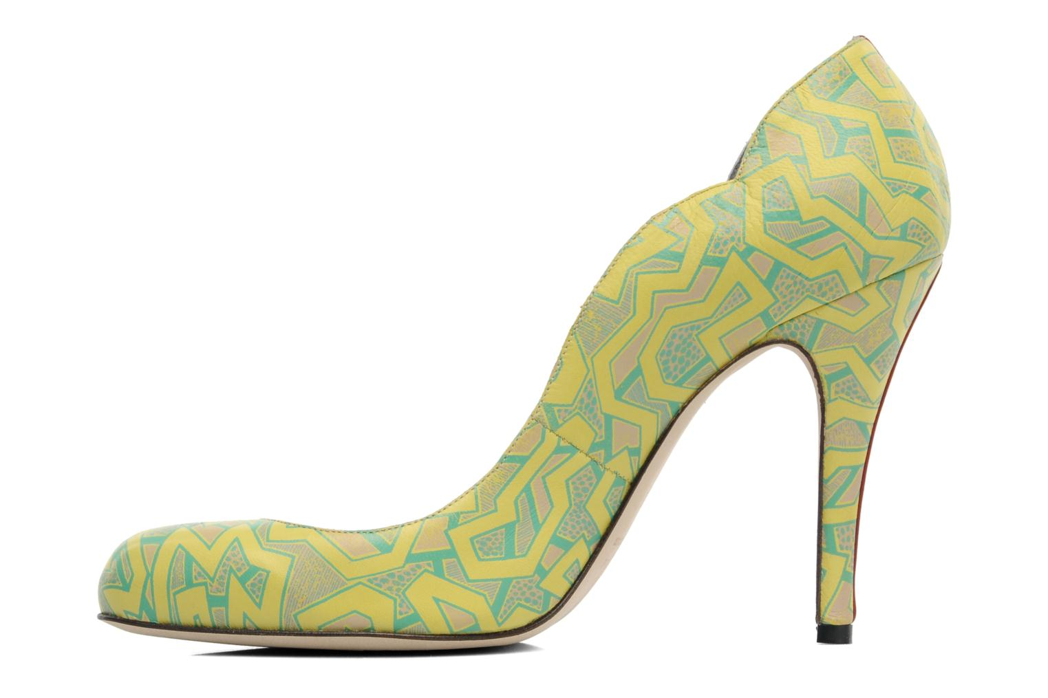 Pumps Fred Marzo Titine Geel voorkant