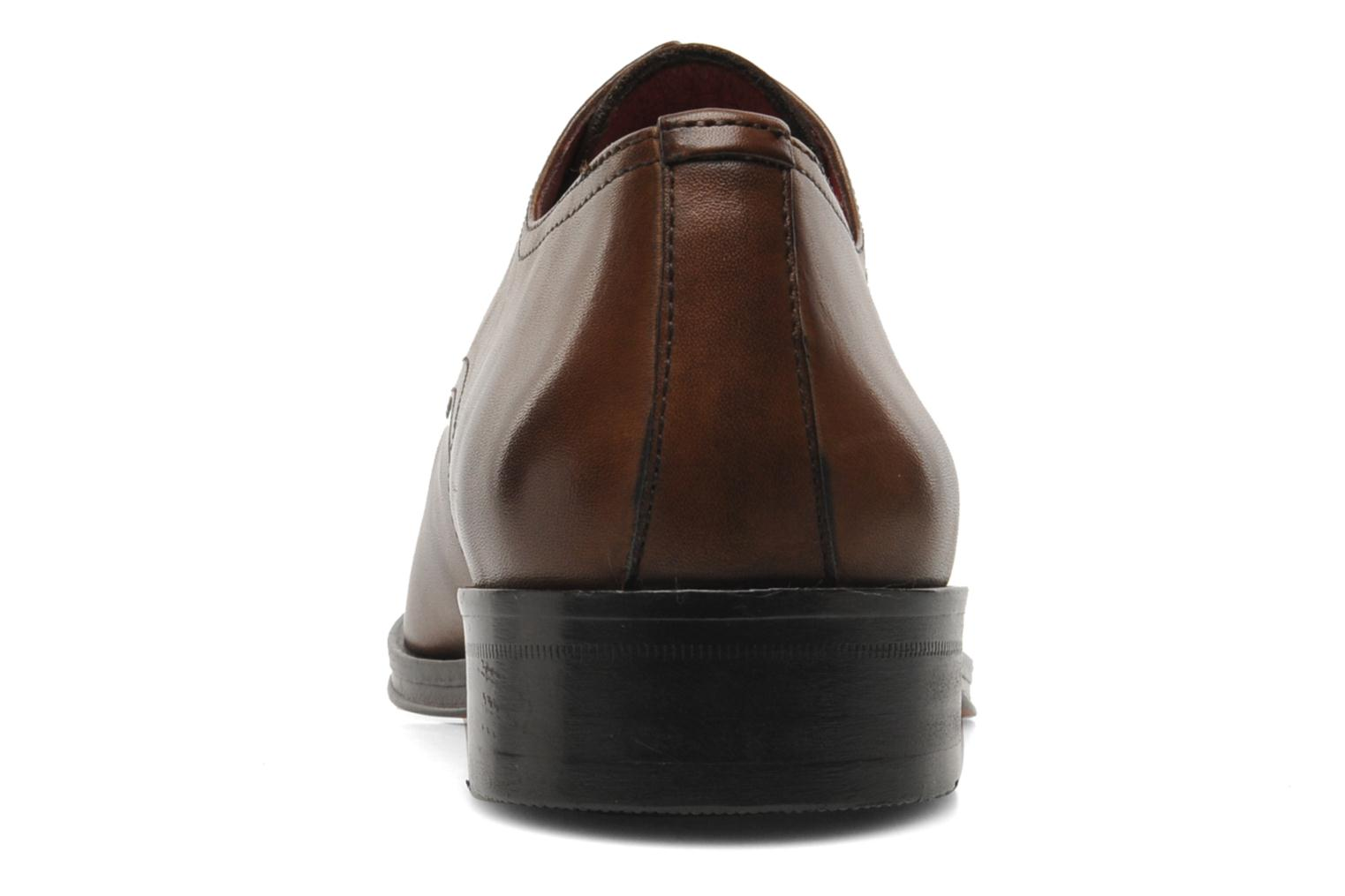 Lace-up shoes Brett & Sons Mark Brown view from the right