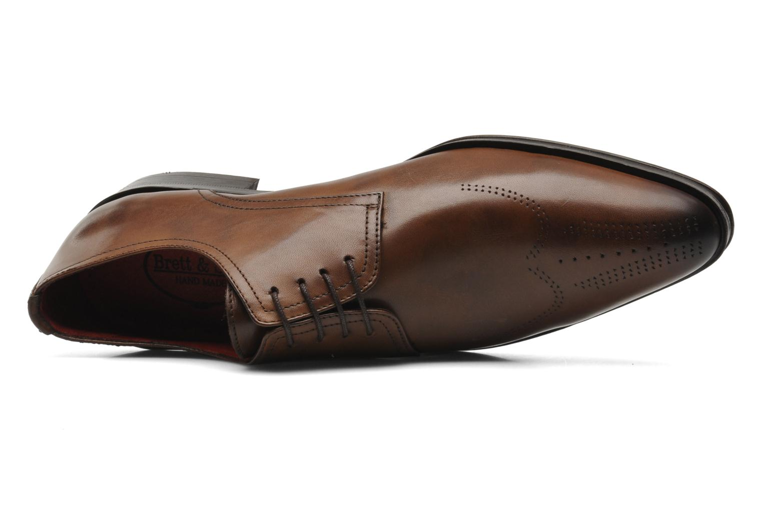 Lace-up shoes Brett & Sons Mark Brown view from the left