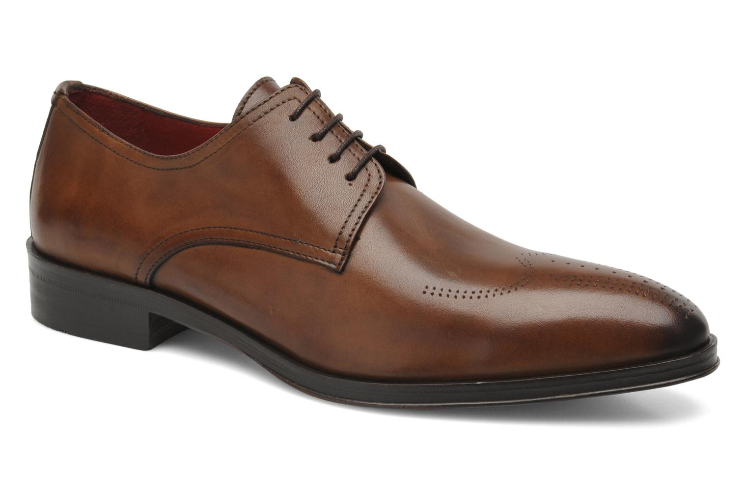 Lace-up shoes Brett & Sons Mark Brown detailed view/ Pair view