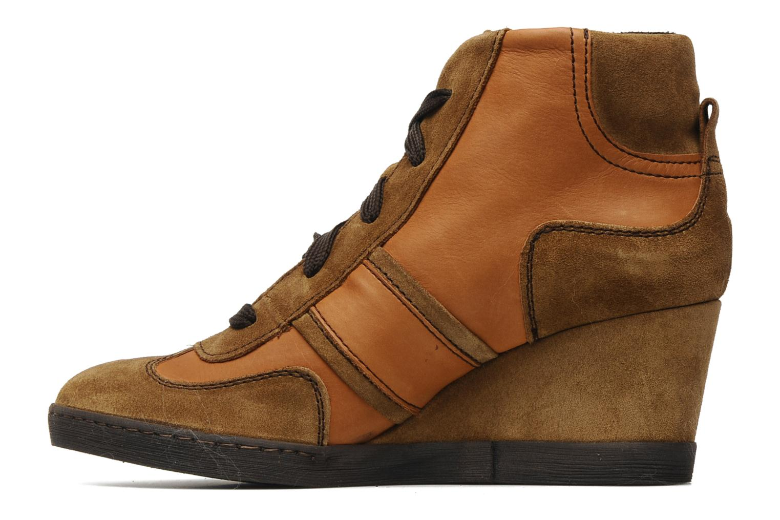 Trainers Khrio Luopa Brown front view