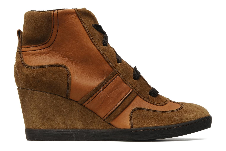 Sneakers Khrio Luopa Bruin achterkant
