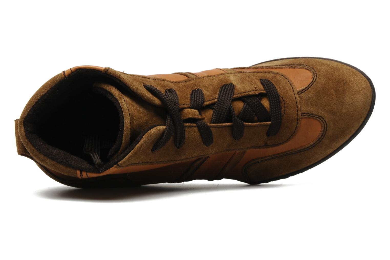 Trainers Khrio Luopa Brown view from the left