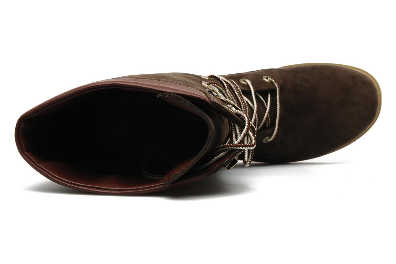 Timberland Botas Premium 14 Pulgadas Oscuro Cuarenta Cuero Marrón DNRZj1