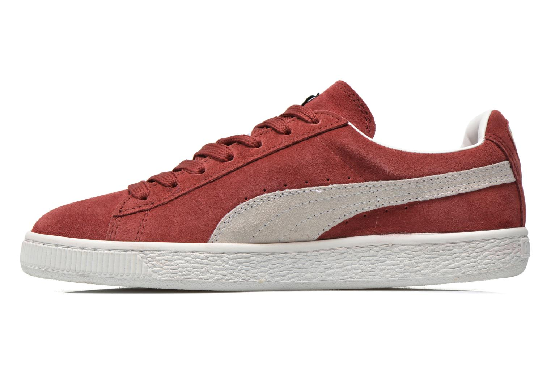 Sneaker Puma Suede classic eco W weinrot ansicht von vorne