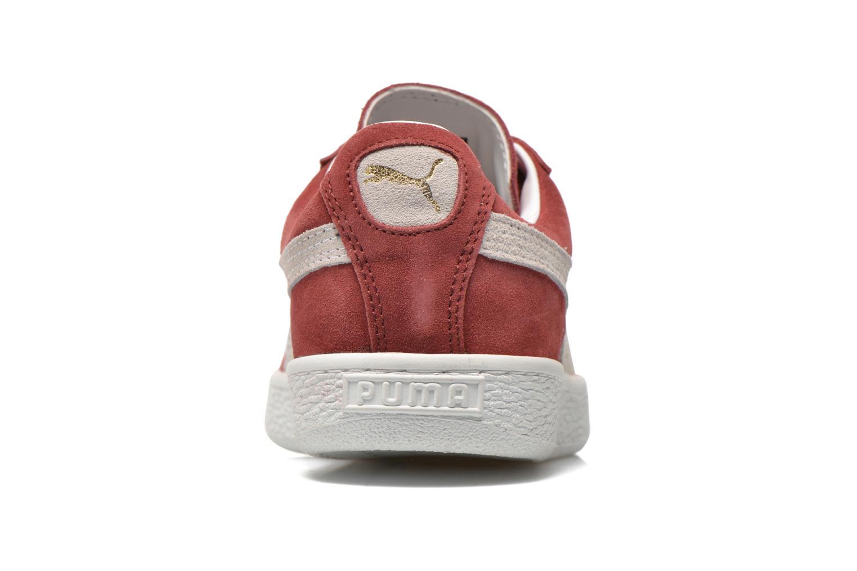Sneaker Puma Suede classic eco W weinrot ansicht von rechts