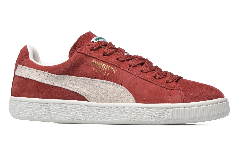 Sneaker Puma Suede classic eco W weinrot ansicht von hinten