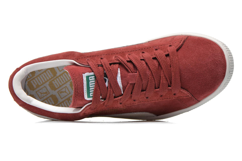 Sneaker Puma Suede classic eco W weinrot ansicht von links