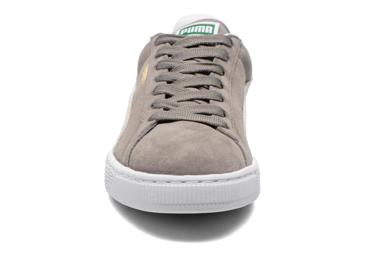 Trainers Puma Suede classic eco W Grey model view