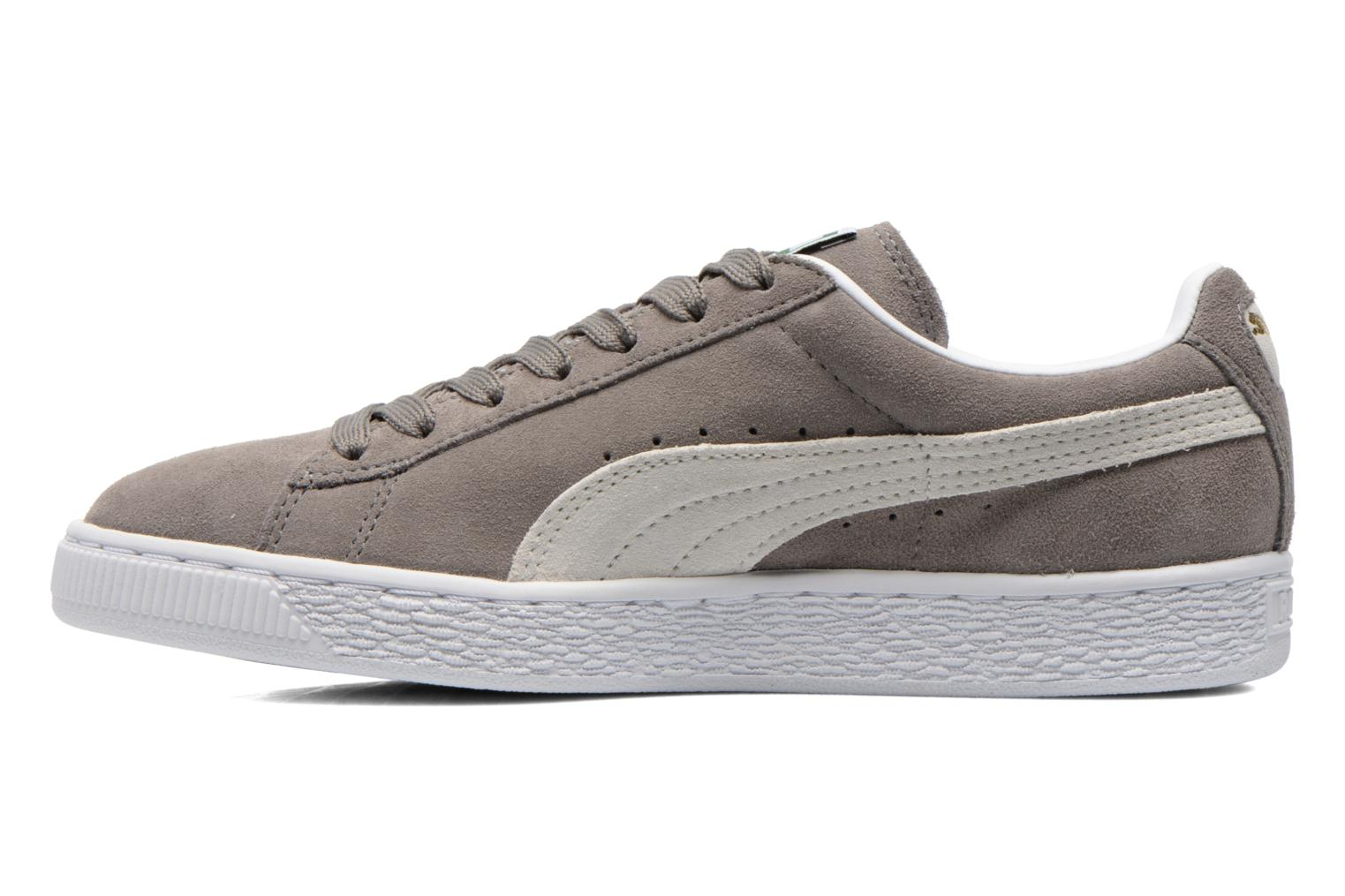 Trainers Puma Suede classic eco W Grey front view