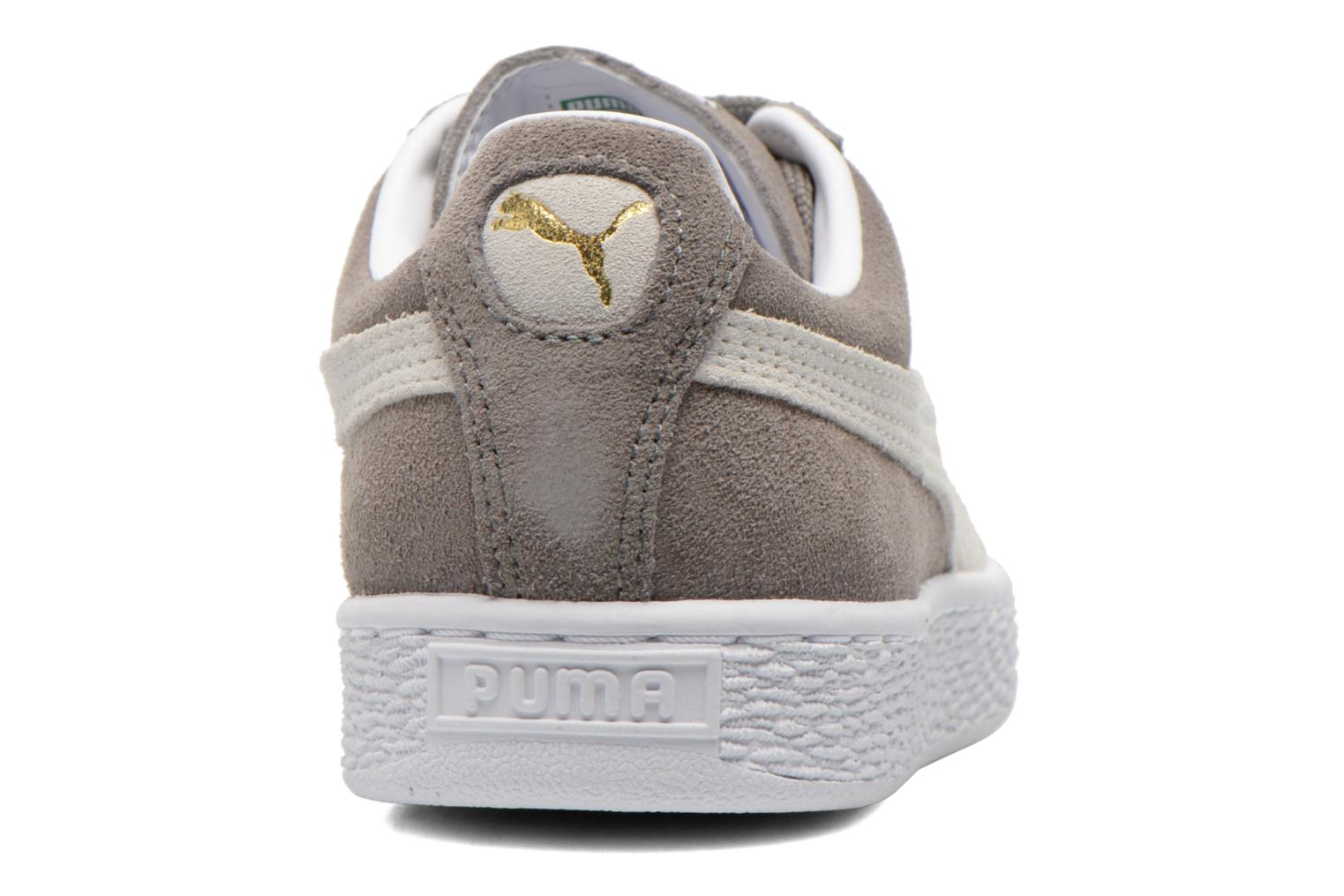 Trainers Puma Suede classic eco W Grey view from the right