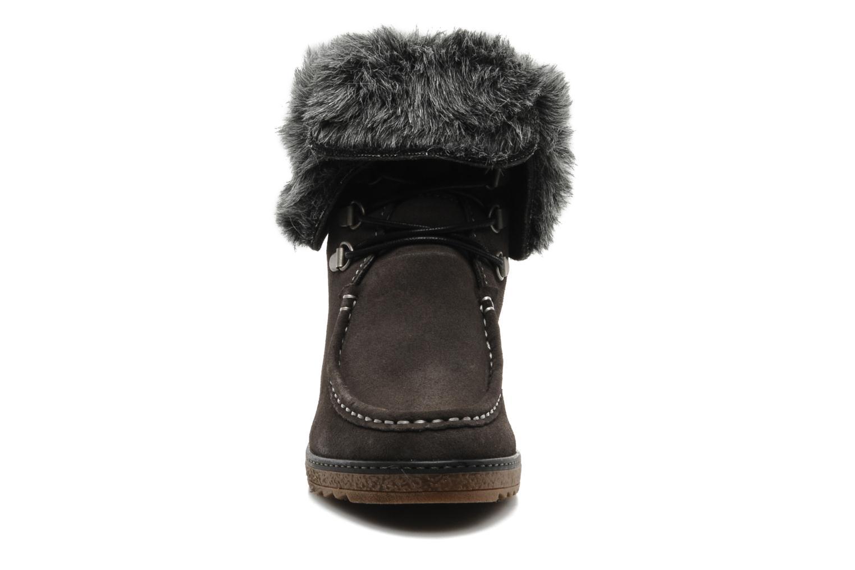 Bottines et boots Le temps des cerises Keren Gris vue portées chaussures